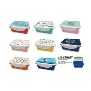 CLOUDS and RAINBOWS Lunch Box
